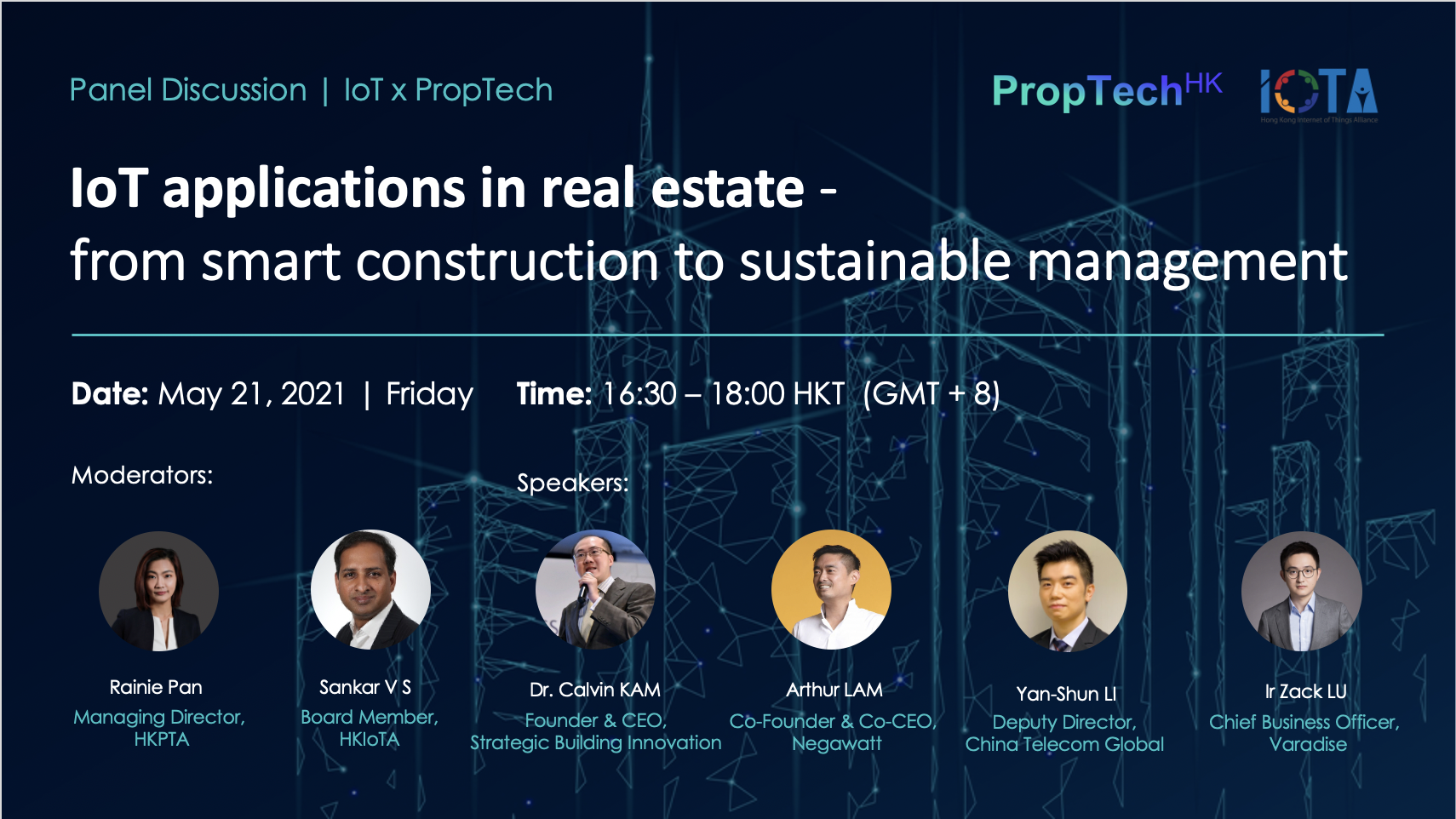 HKPTA webinar: How IoT applications are changing the real estate world